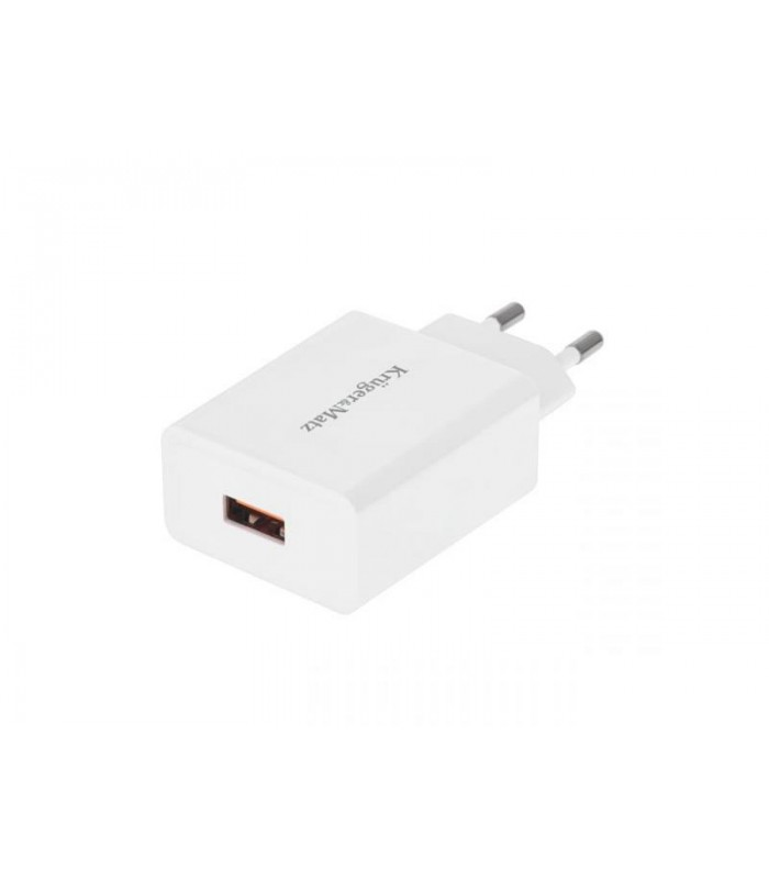 Adaptér sieťový KRUGER and MATZ KM0132 s funkciou Quick Charge 3.0