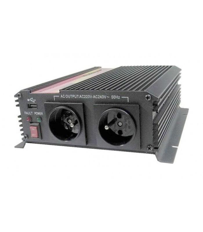 Menič napätia 24V/230V 1000W CZ CARSPA