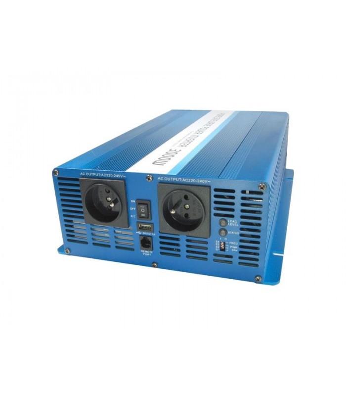 Menič napätia CARSPA SK3000 12V/230V 3000W čistá sínusoida
