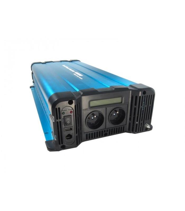 Menič napätia Solarvertech FS4000-224 24V/230V 4000W čistá sínusoida
