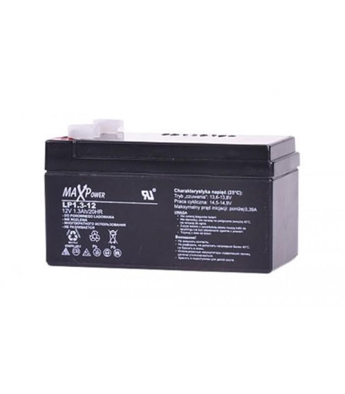 Batéria olovená 12V/ 1.3Ah MaxPower