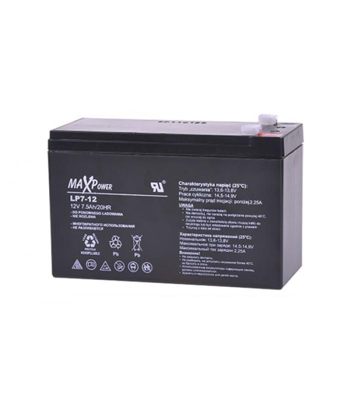Batéria olovená 12V/ 7.5Ah REBEL