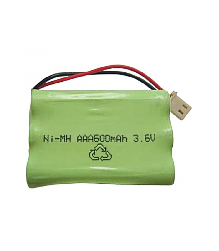 Akupack NiMH AAA 3,6 V/600mAh