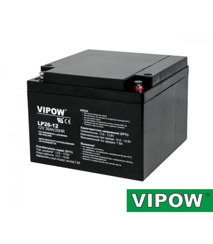 Batéria olovená 12V/26Ah VIPOW