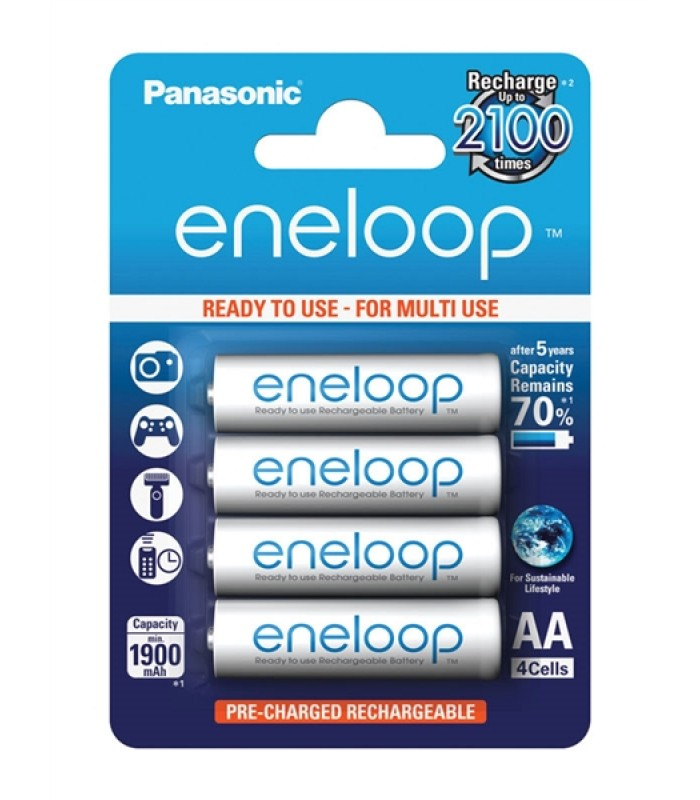 ENELOOP AA 4x 2100C PANASONIC 3MCCE/4BE nabíjacie