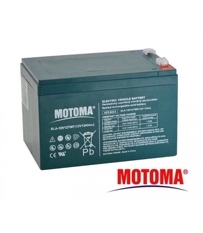 Batéria olovená 12V/12Ah - Trakčná MOTOMA bezúdržbový akumulátor