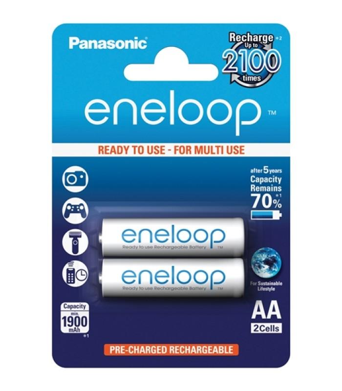 Batérie 3MCCE/2BE ENELOOP AA 2x 2100C PANASONIC nabíjacie