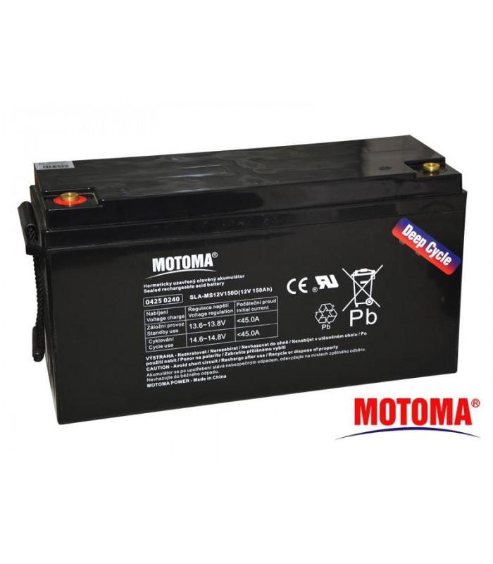 Batéria olovená 12V/ 150Ah Trakčná MOTOMA