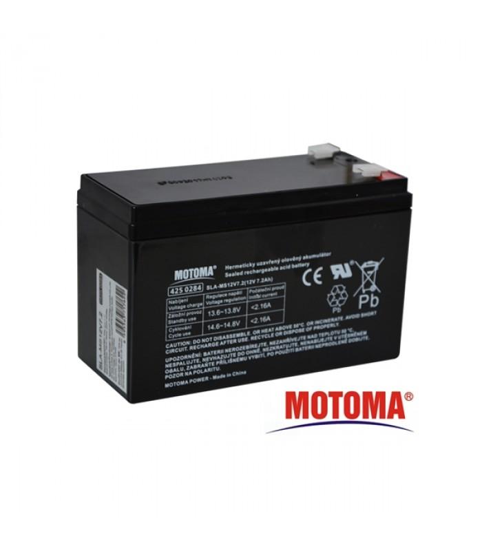 Batéria olovená 12V / 7.2Ah MOTOMA