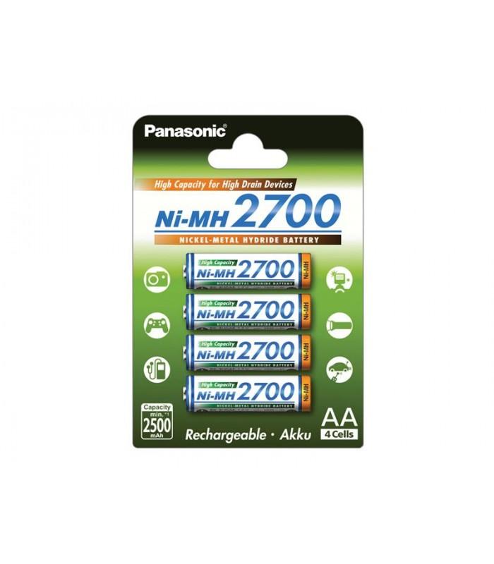 HR6 AA 3HGAE/4BE HICAP 2700 PANASONIC, nabíjacie 4 kusy