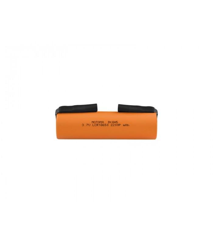 Nabíjacie batérie Li-Ion LCR18650 3,7V / 2200mAh 5C MOTOMA s pásikovými vývodmi