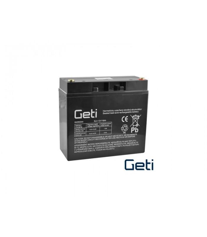 Batéria olovená 12V 18Ah GETI