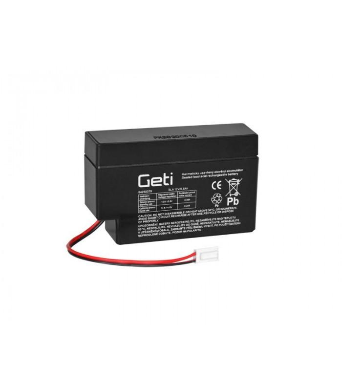 Batéria olovená 12V 0.8Ah Geti