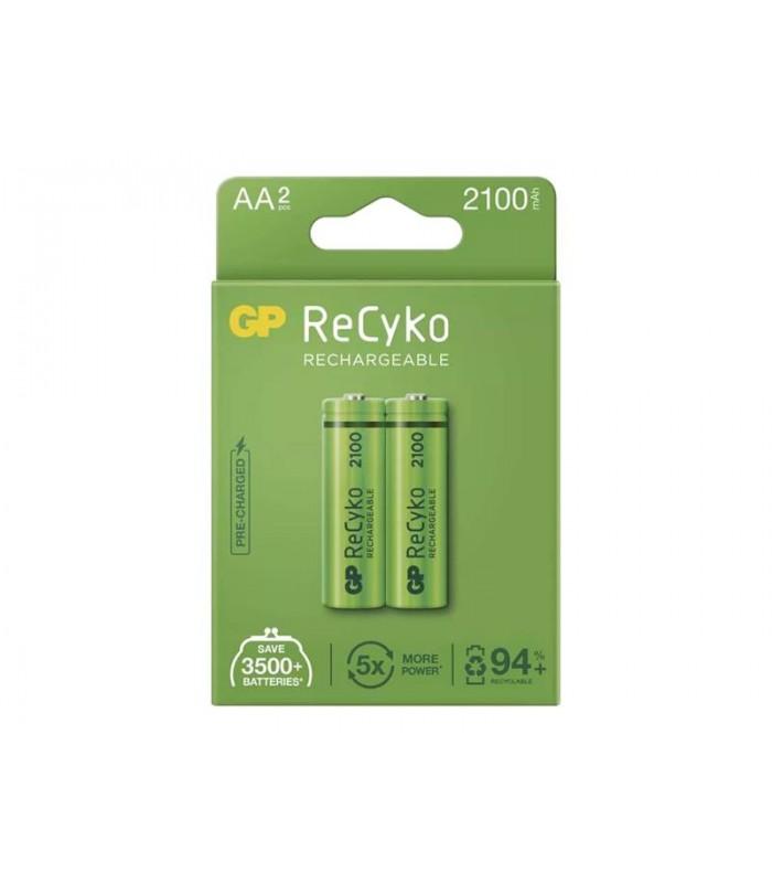 Batéria AA (R6) nabíjacie 1,2V/2100mAh GP Recyko 2ks