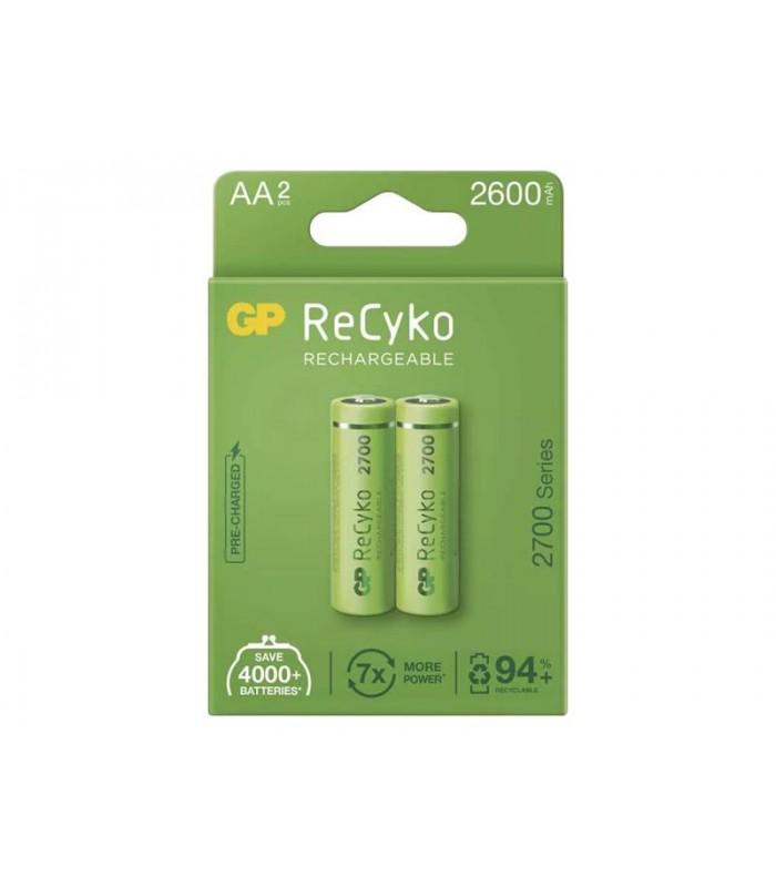 Batéria AA (R6) nabíjacie 1,2V/2600mAh GP Recyko 2ks
