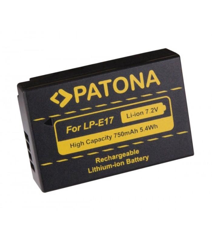 Batéria foto CANON LP-E17 750mAh PATONA PT1250