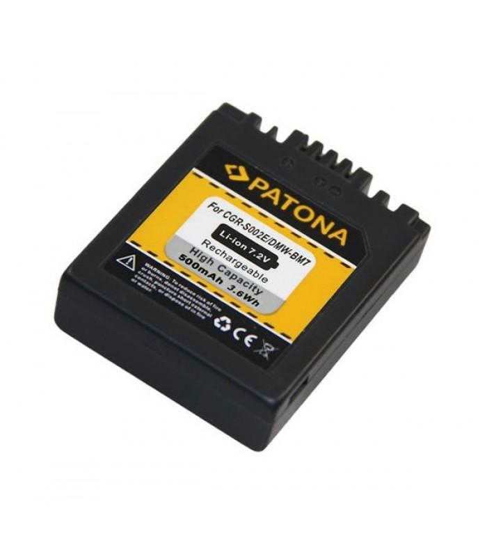 Batéria foto PANASONIC LUMIX BM7 500mAh PATONA PT1027