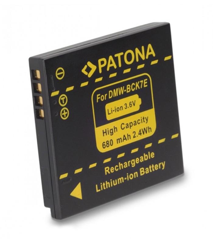 Batéria foto PANASONIC DMW-BCK7E 680mAh PATONA PT1091