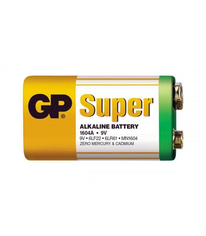 Batéria GP alkalická 9V blok fólia