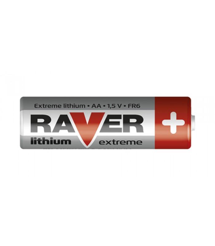 Batéria AA (R6) lithium RAVER