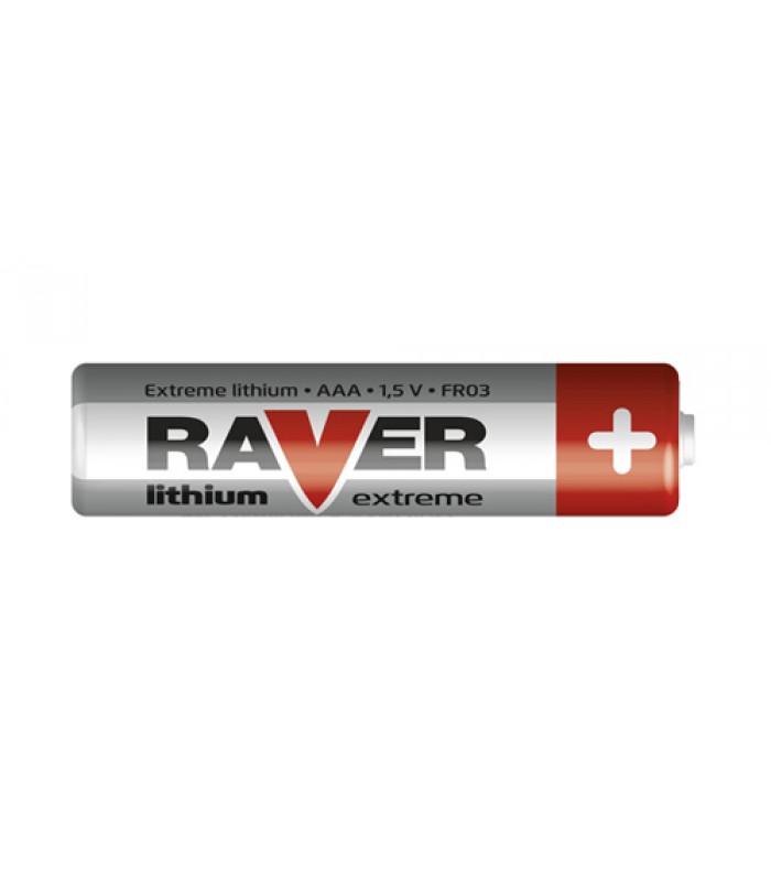 Batéria AAA(R03) líthiová RAVER