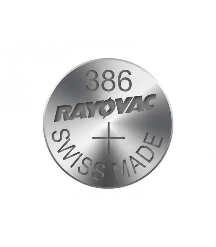 Gombíková batéria do hodiniek RAYOVAC 386
