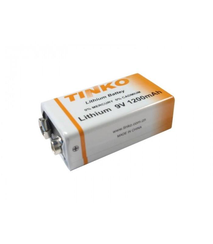 Batéria TINKO ER9 (6F22) 9V lithiová 1200mAh