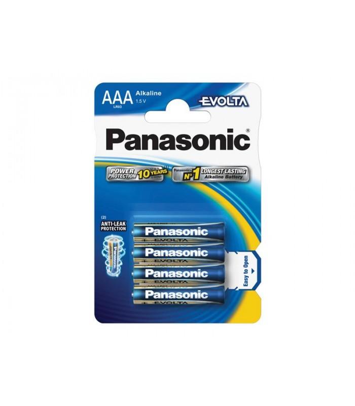 Batéria AAA(LR03) alkalická PANASONIC Evolta 4BP