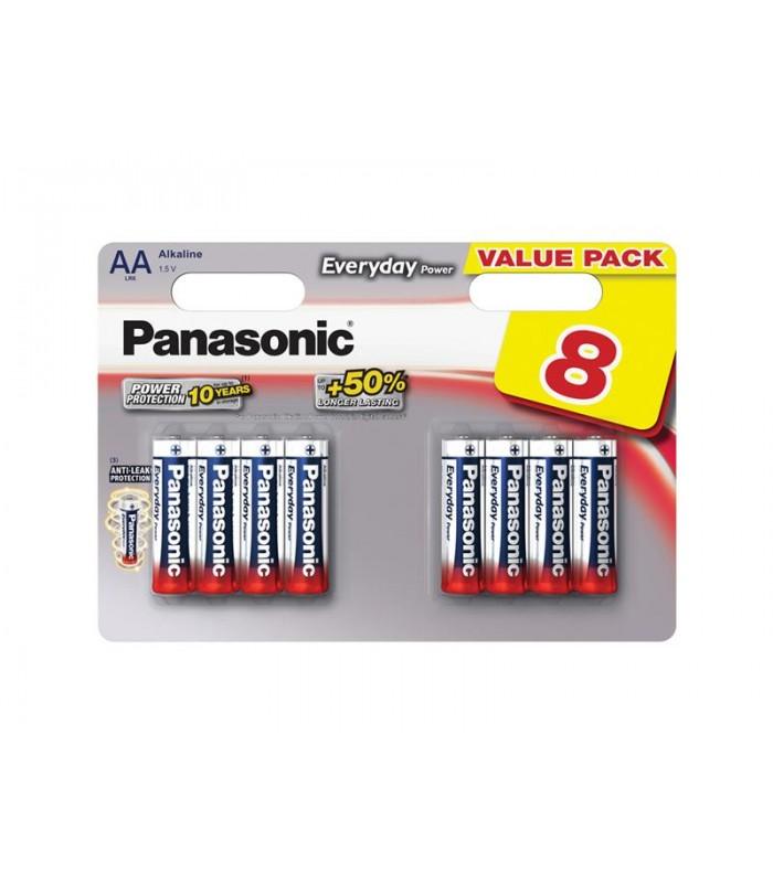Batéria AA (R6) alkalická PANASONIC Everyday Power LR6 8BP