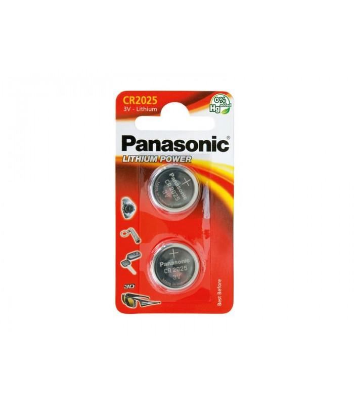 Batéria CR2025 PANASONIC lithiová 2BP