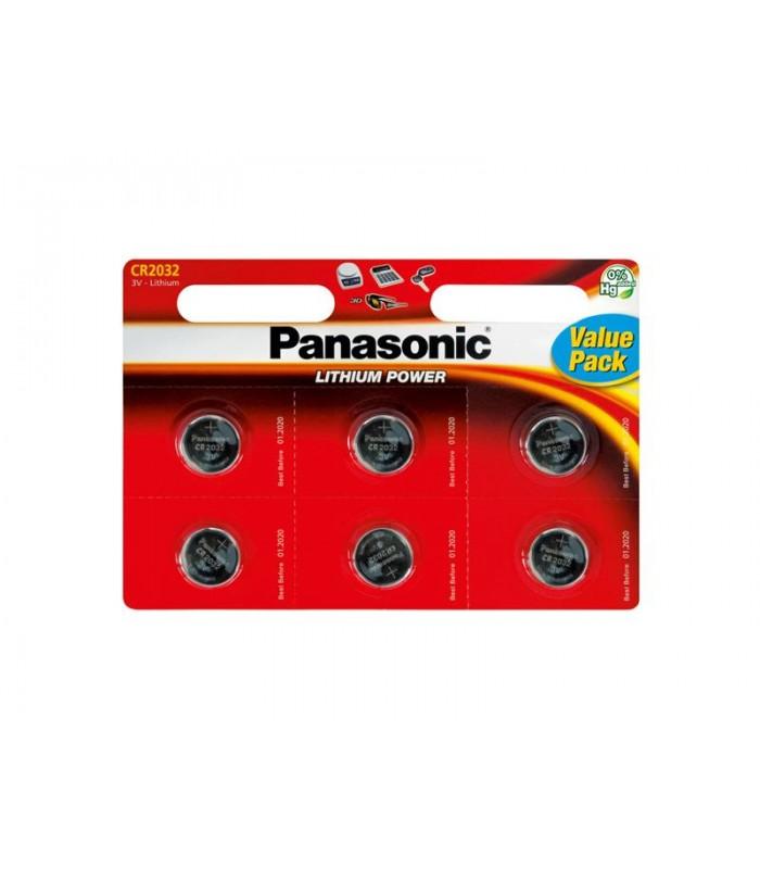 Batéria CR2032 PANASONIC lithiová 6BP