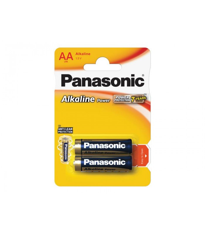Batéria AA (R6) alkalická PANASONIC Alkaline Power LR6 2BP