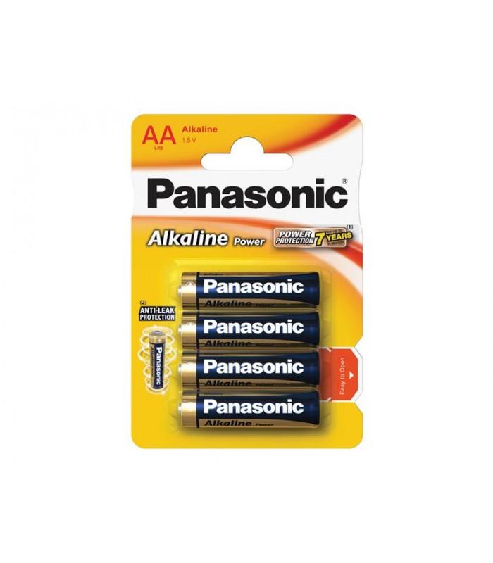 Batéria AA (R6) alkalická PANASONIC Alkaline Power LR6 4BP