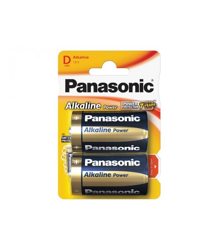 Batéria D (R20) alkalická PANASONIC Alkaline Power LR20 2BP