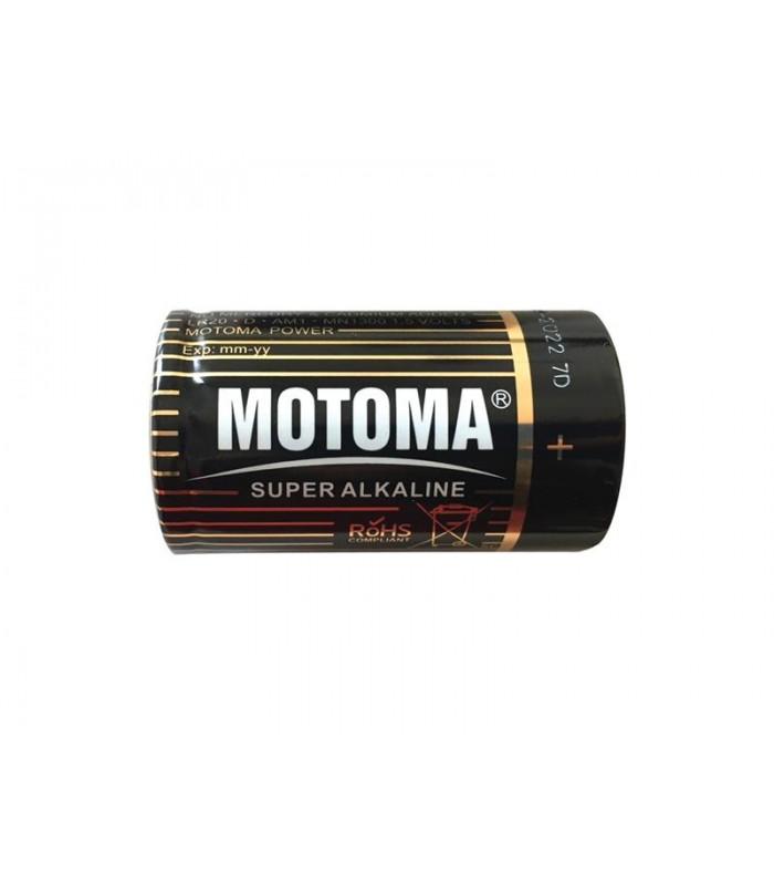 Batéria alkalická R20 D MOTOMA Black edition