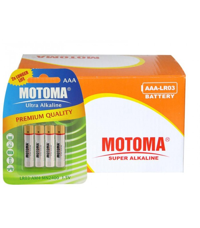 Balíček 96 ks AAA (R03) MOTOMA Ultra Alkaline