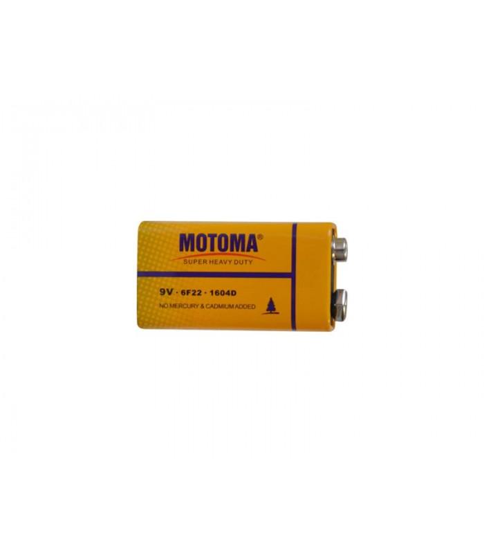 Batéria 6F22 (9V) Zn-Cl MOTOMA