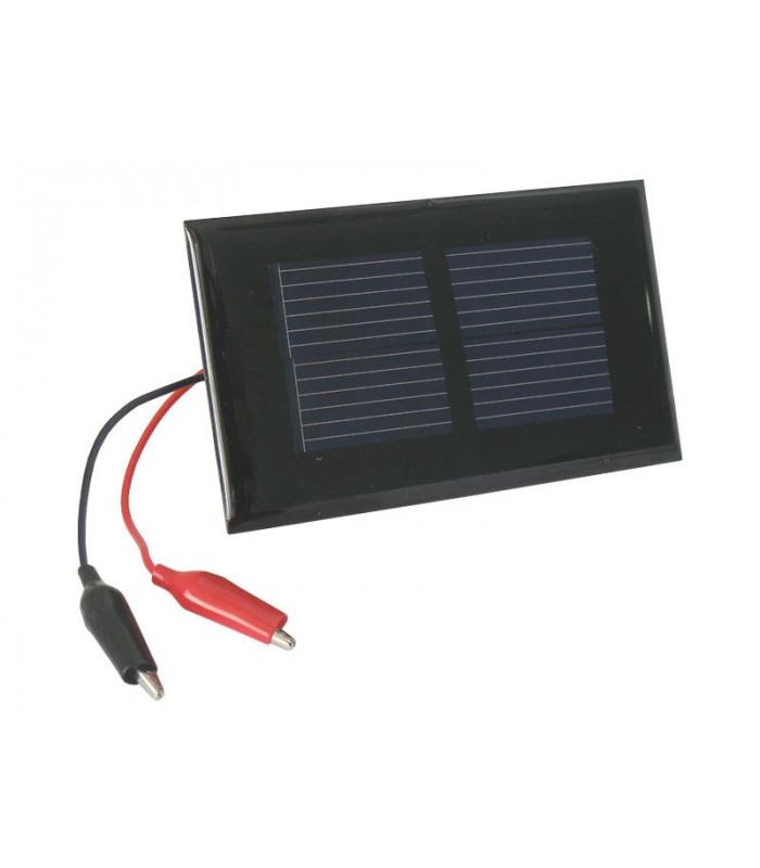 Solárny fotovoltaický článok 1V/ 0,2W panel + káblové vývody