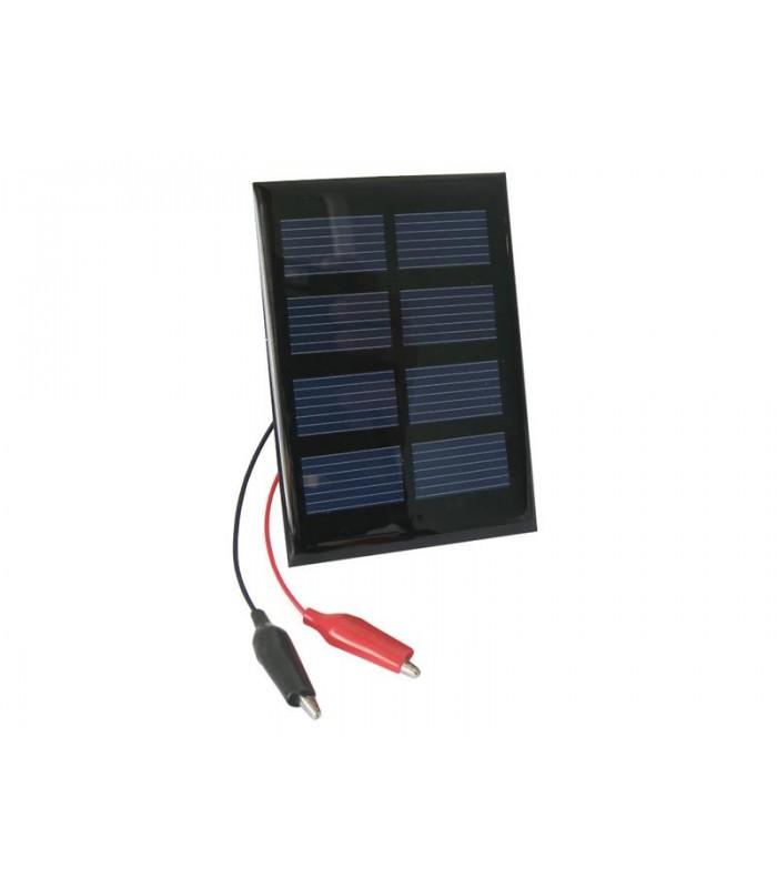 Solárny fotovoltaický článok 2V/ 0,4W panel + káblové vývody