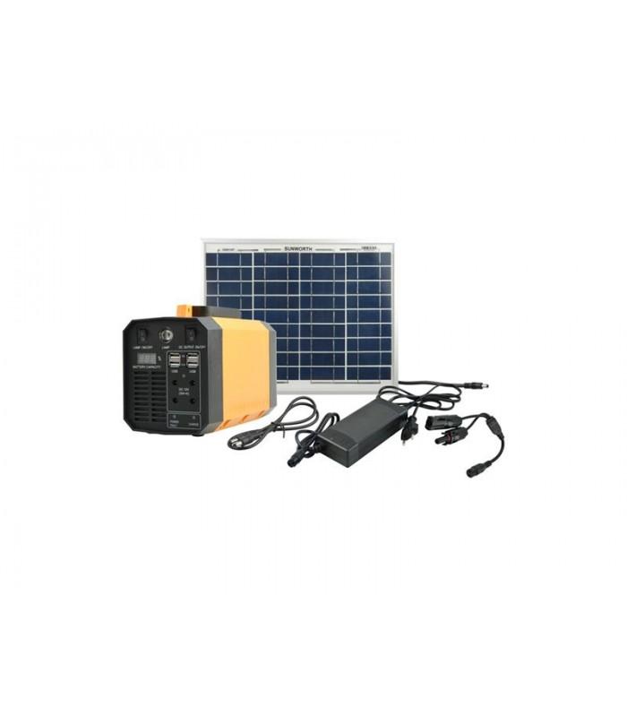 Fotovoltaický prenosný solárny systém MOTOMA 50W (Li-Ion)
