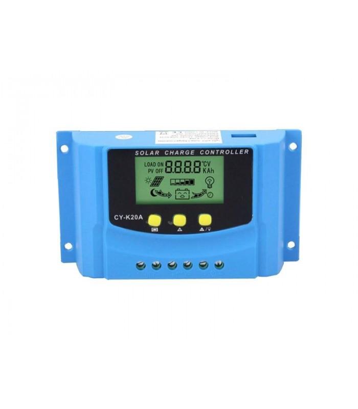 Solárny regulátor PWM CY-K20A 12-24V/20A