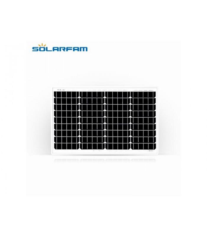 Solárny panel SOLARFAM 12V / 40W monokryštalický