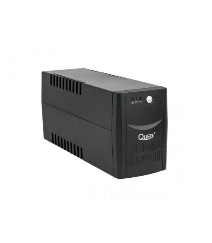 Záložný zdroj UPS QUER KOM0551 (offline, 600VA / 360W, 230 V, 50 Hz)