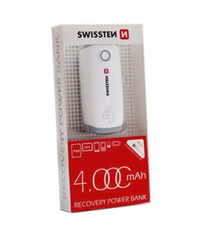 PowerBank SWISSTEN RECOVERY 4000 mAh