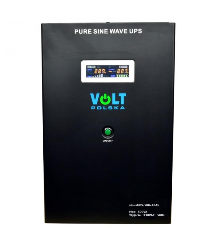 Záložný zdroj UPS SINUS PRO 300/500W + AKU 40