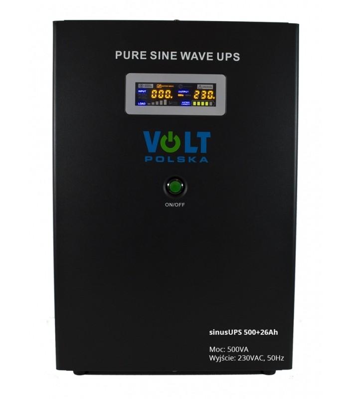 Záložný zdroj UPS SINUS PRO 300/500W + AKU 26